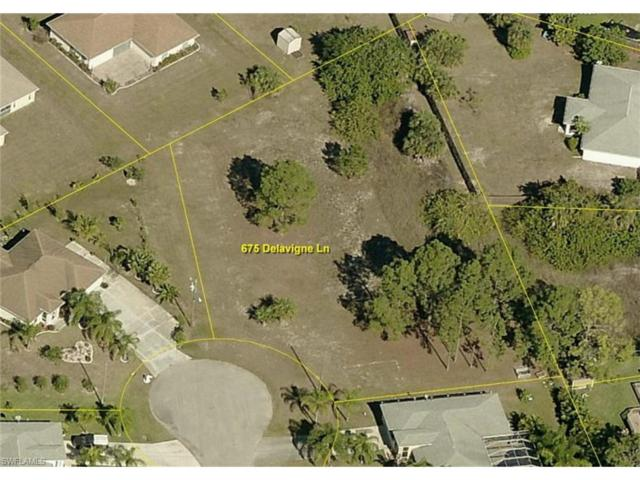 675 Delavigne Ln, Lehigh Acres, FL 33974 (MLS #217055740) :: The New Home Spot, Inc.