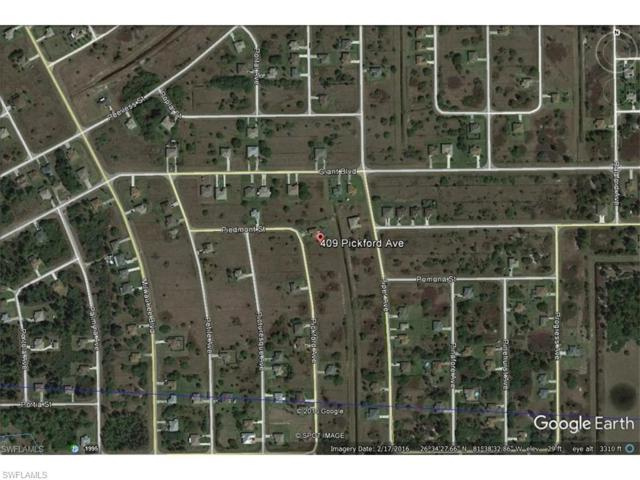 409 Pickford Ave, Lehigh Acres, FL 33974 (MLS #217058803) :: Clausen Properties, Inc.