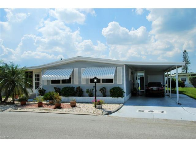 547 Palmer Blvd, North Fort Myers, FL 33903 (MLS #217059611) :: The New Home Spot, Inc.