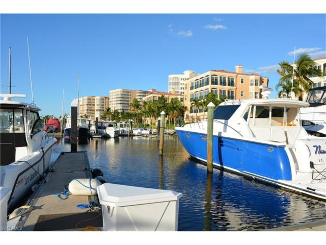 48 Ft. Boat Slip At Gulf Harbour G-3, Fort Myers, FL 33908 (MLS #217065601) :: RE/MAX Realty Group