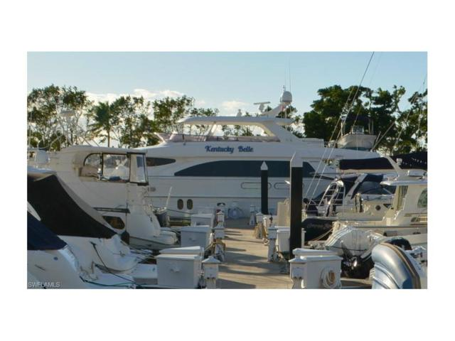 97 Ft. Boat Slip At Gulf Harbour G 10-11, Fort Myers, FL 33908 (MLS #217065609) :: The Naples Beach And Homes Team/MVP Realty