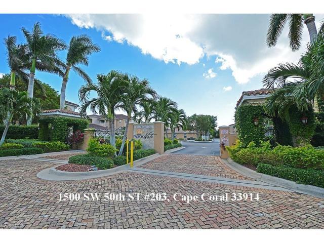 1500 SW 50th St #203, Cape Coral, FL 33914 (MLS #217070170) :: Florida Homestar Team