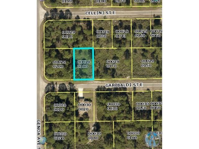 1105 Garibaldi St E, Lehigh Acres, FL 33974 (MLS #217071501) :: Florida Homestar Team