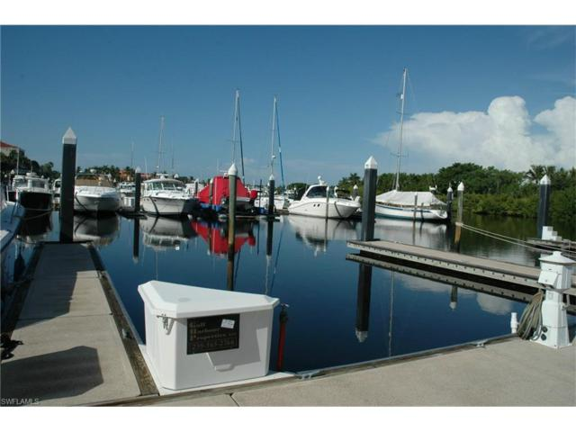 38 Ft. Boat Slip At Gulf Harbour I-14, Fort Myers, FL 33908 (MLS #217071782) :: Clausen Properties, Inc.