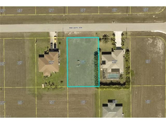 3808 NW 40th Ter, Cape Coral, FL 33993 (#217076860) :: RealPro Realty