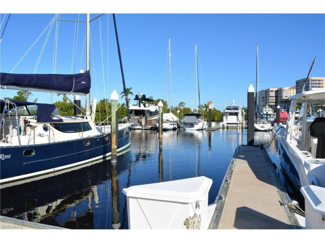 48 Ft. Boat Slip At Gulf Harbour G-6, Fort Myers, FL 33908 (MLS #218002359) :: RE/MAX Realty Group