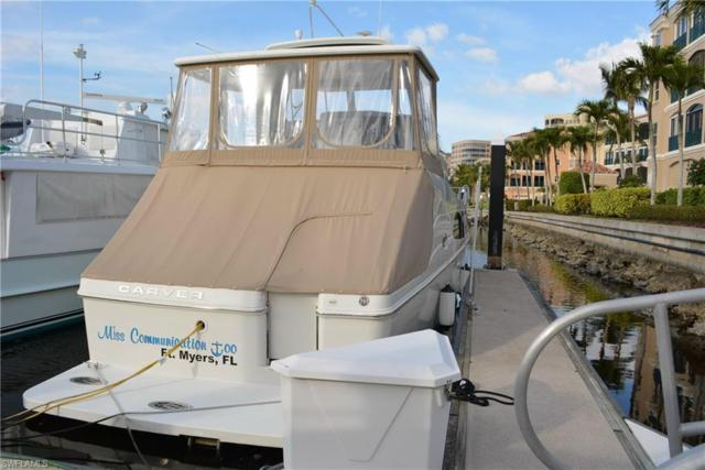 48 Ft. Boat Dock At Gulf Harbour F-1, Fort Myers, FL 33908 (MLS #218004896) :: Clausen Properties, Inc.