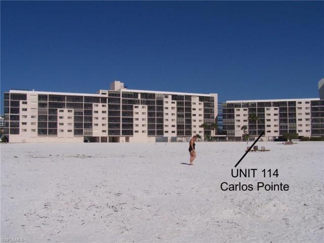 8350 Estero Blvd #114, Fort Myers Beach, FL 33931 (MLS #218006372) :: RE/MAX Realty Team