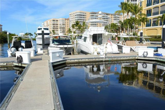 38 Ft. Boat Slip At Gulf Harbour I-11, Fort Myers, FL 33908 (MLS #218006422) :: The Naples Beach And Homes Team/MVP Realty
