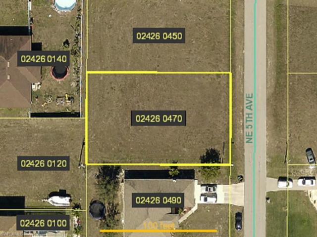 1140 NE 5th Ave, Cape Coral, FL 33909 (MLS #218006835) :: The New Home Spot, Inc.
