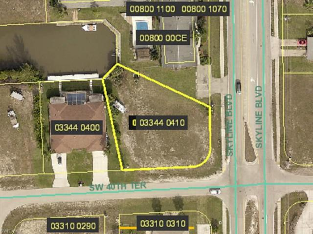 803 SW 40th Ter, Cape Coral, FL 33914 (MLS #218006841) :: The New Home Spot, Inc.