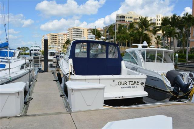 38 Ft. Boat Slip At Gulf Harbour H-3, Fort Myers, FL 33908 (MLS #218018158) :: The Naples Beach And Homes Team/MVP Realty