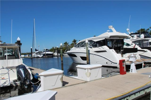48 ft. Boat Slip B-2 Gulf Harbour B-20, Fort Myers, FL 33908 (MLS #218020548) :: RE/MAX Realty Group