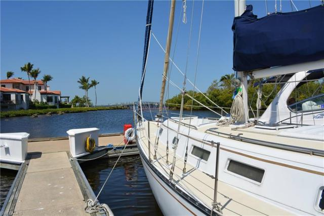 38 Ft. Boat Slip At Gulf Harbour A-6, Fort Myers, FL 33908 (MLS #218023949) :: The Naples Beach And Homes Team/MVP Realty
