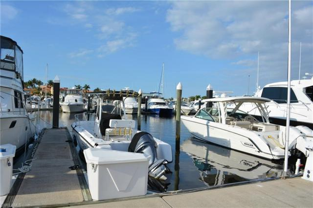 48 Ft. Boat Dock At Gulf Harbour F-20, Fort Myers, FL 33908 (MLS #218025670) :: The Naples Beach And Homes Team/MVP Realty