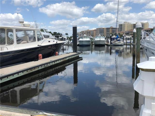 D-13 50 Ft. Boat Slip At Gulf Harbour Marina D-13, Fort Myers, FL 33908 (MLS #218027985) :: The Naples Beach And Homes Team/MVP Realty