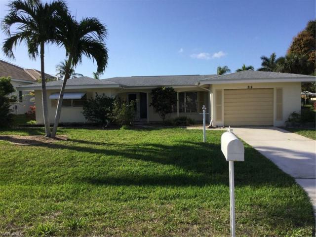 814 Montclaire Ct, Cape Coral, FL 33904 (MLS #218029832) :: The New Home Spot, Inc.