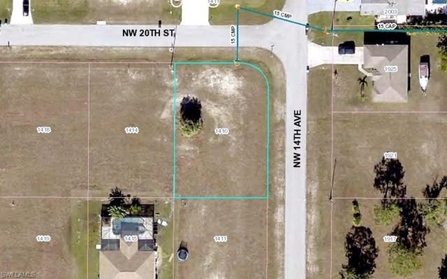 1410 NW 20th St, Cape Coral, FL 33993 (MLS #218030954) :: The New Home Spot, Inc.