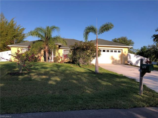 707 Thompson Ave, Lehigh Acres, FL 33972 (MLS #218030973) :: The New Home Spot, Inc.
