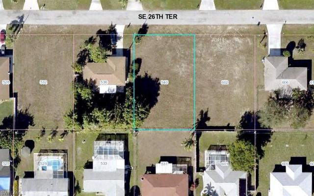 540 SE 26th Ter, Cape Coral, FL 33904 (MLS #218030990) :: The New Home Spot, Inc.