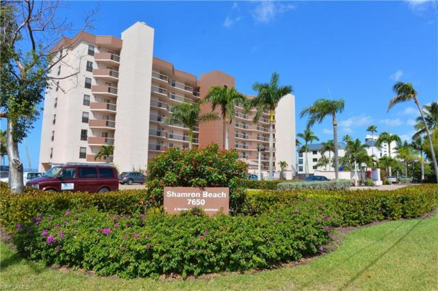 7650 Estero Blvd #707, Fort Myers Beach, FL 33931 (MLS #218044900) :: RE/MAX Realty Group