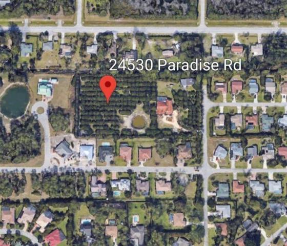 24530 Paradise Rd, Bonita Springs, FL 34135 (MLS #218045546) :: RE/MAX Realty Team