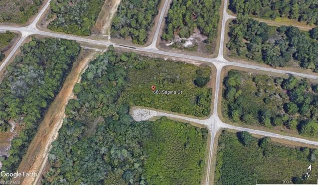 680 Sabina Ct, Lehigh Acres, FL 33972 (MLS #218047585) :: Clausen Properties, Inc.