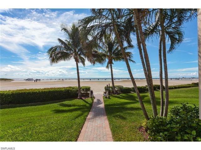 6672 Estero Blvd W A107, Fort Myers Beach, FL 33931 (MLS #218049043) :: The Naples Beach And Homes Team/MVP Realty