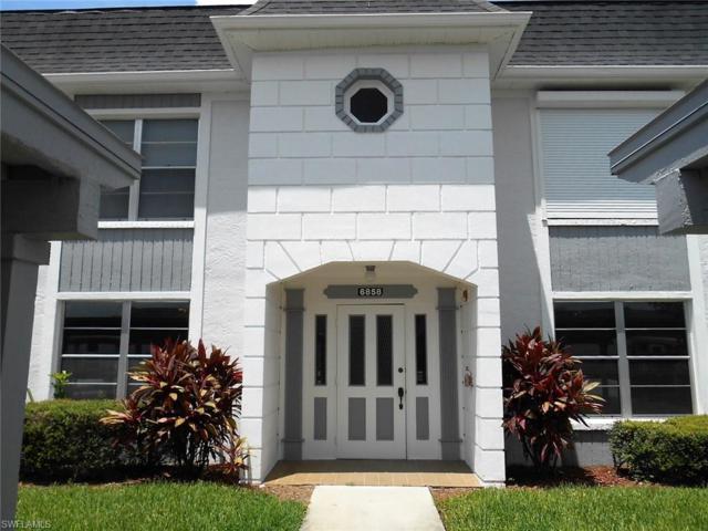 6858 Sandtrap Dr #1, Fort Myers, FL 33919 (MLS #218056017) :: Clausen Properties, Inc.
