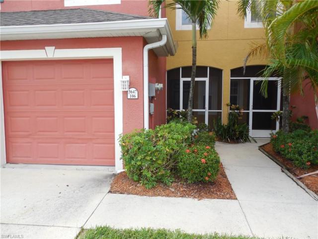 3647 Pine Oak Cir #106, Fort Myers, FL 33916 (MLS #218060262) :: RE/MAX DREAM