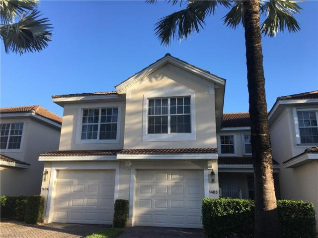 11680 Navarro Way #1403, Fort Myers, FL 33908 (MLS #218069097) :: RE/MAX DREAM