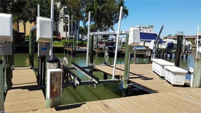 4361 Bay Beach Ln Dock #58 #58, Fort Myers Beach, FL 33931 (MLS #218076150) :: The Naples Beach And Homes Team/MVP Realty