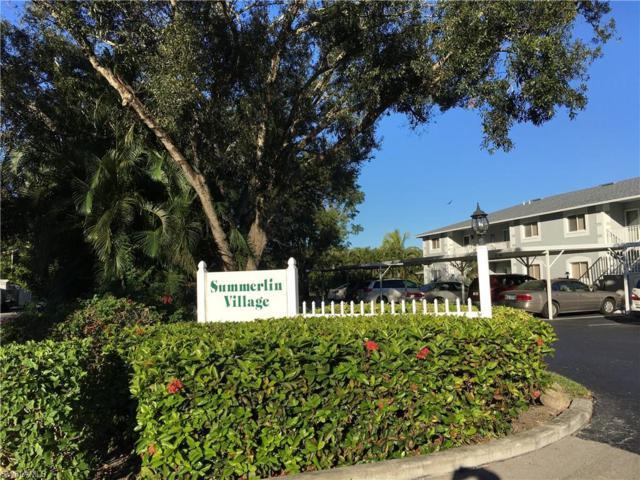 8160 Summerlin Village Cir #506, Fort Myers, FL 33919 (MLS #218076357) :: The New Home Spot, Inc.