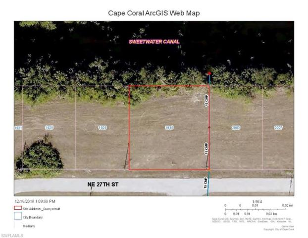 1935 NE 27th St, Cape Coral, FL 33909 (MLS #218083395) :: RE/MAX Radiance