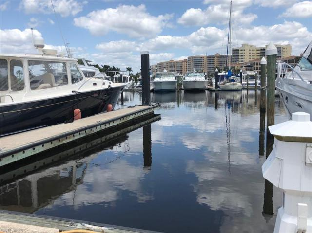 D-13 50 FT. BOAT SLIP AT GULF HARBOUR MARINA D-13, Fort Myers, FL 33908 (MLS #219001474) :: Clausen Properties, Inc.