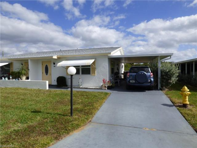 34 Heath Aster Ln, Lehigh Acres, FL 33936 (MLS #219006966) :: RE/MAX DREAM