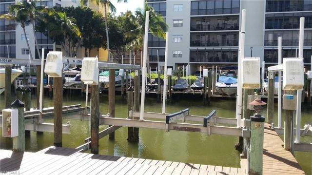 4331 Bay Beach Lane Dock #49 49+Lift, Fort Myers Beach, FL 33931 (MLS #219009161) :: RE/MAX DREAM