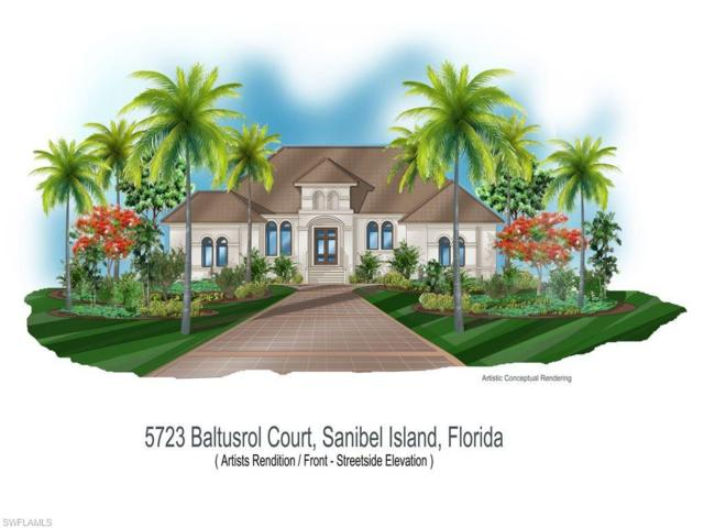 5723 Baltusrol Ct, Sanibel, FL 33957 (MLS #219013130) :: RE/MAX Realty Group