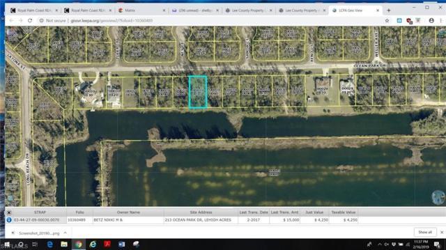 213 Ocean Park Dr, Lehigh Acres, FL 33972 (MLS #219014182) :: Clausen Properties, Inc.