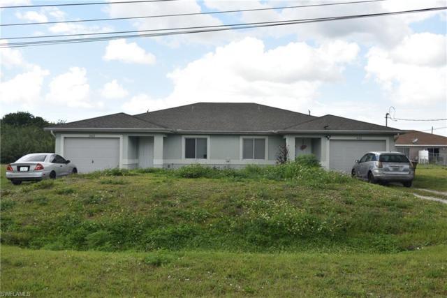 2420/2422 Milton Ave S, Lehigh Acres, FL 33973 (MLS #219015715) :: The Naples Beach And Homes Team/MVP Realty