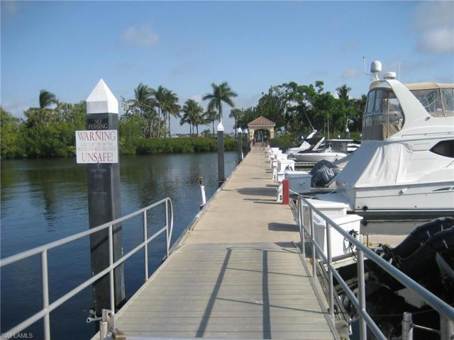 Boat Dock -A3 Gulf Harbour, Fort Myers, FL 33908 (MLS #219019204) :: Domain Realty