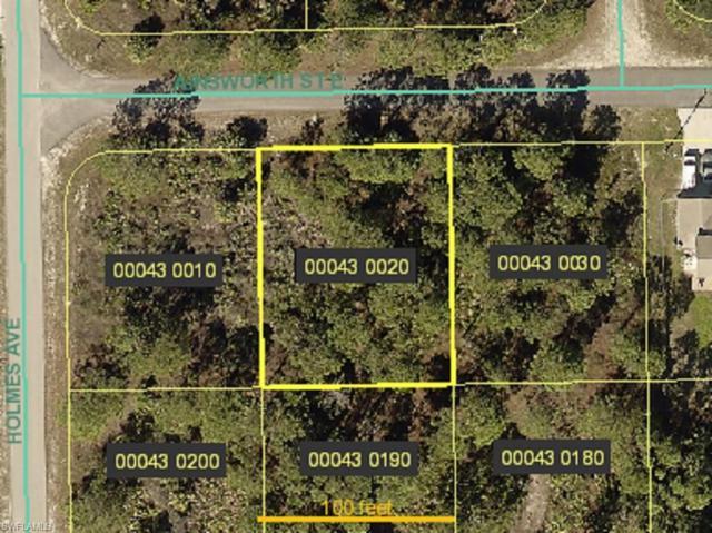 1012/1014 Ainsworth St E, Lehigh Acres, FL 33974 (MLS #219022618) :: John R Wood Properties