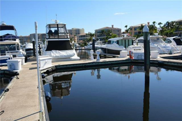 50 Ft. Boat Slip At Gulf Harbour E-24, Fort Myers, FL 33908 (MLS #219037271) :: Domain Realty