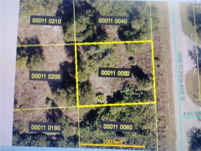 316 Gretchen Ave S, Lehigh Acres, FL 33973 (MLS #219037413) :: Kris Asquith's Diamond Coastal Group
