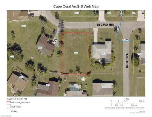 1006 SE 23rd Ter, Cape Coral, FL 33990 (MLS #219037599) :: Palm Paradise Real Estate