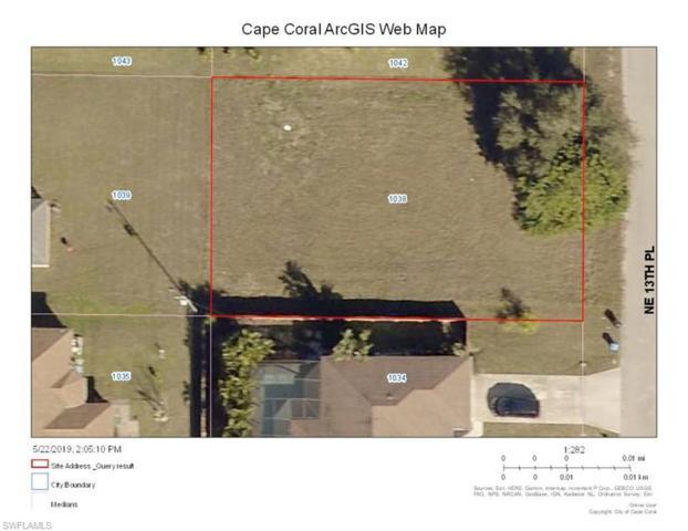1038 NE 13th Pl, Cape Coral, FL 33909 (MLS #219037616) :: Palm Paradise Real Estate