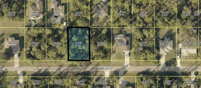5422 Beck St, Lehigh Acres, FL 33971 (MLS #219042832) :: Clausen Properties, Inc.