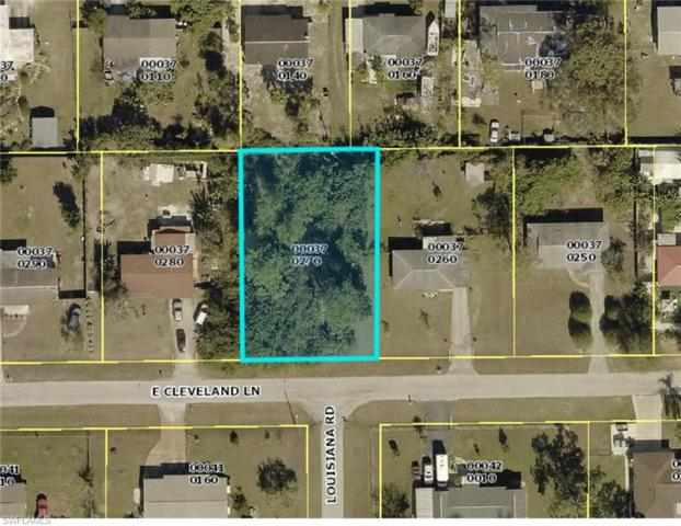 501 E Cleveland Ln, Lehigh Acres, FL 33936 (MLS #219043685) :: RE/MAX Radiance