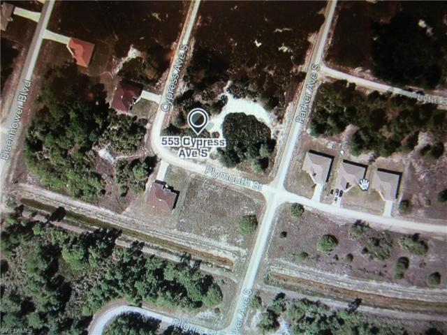 553 Cypress Ave S, Lehigh Acres, FL 33974 (MLS #219044043) :: RE/MAX Realty Team