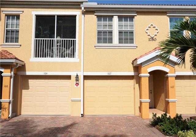1750 Concordia Lake Cir #107, Cape Coral, FL 33909 (MLS #219044169) :: RE/MAX Realty Group